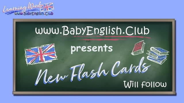 New Flash Cards for Kids