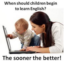 When children have to start to learn English