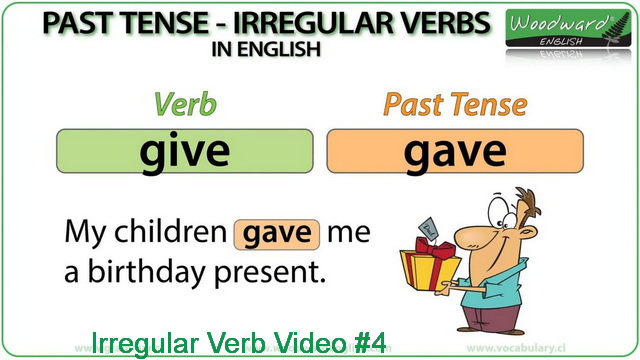 Irregular Verb Video #4