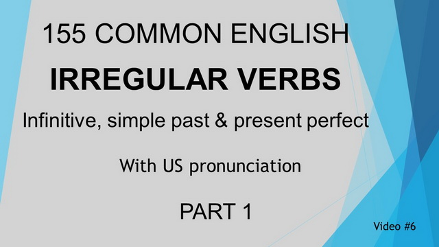 Irregular Verb Video #6