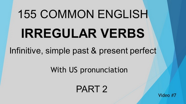 Irregular Verb Video #7