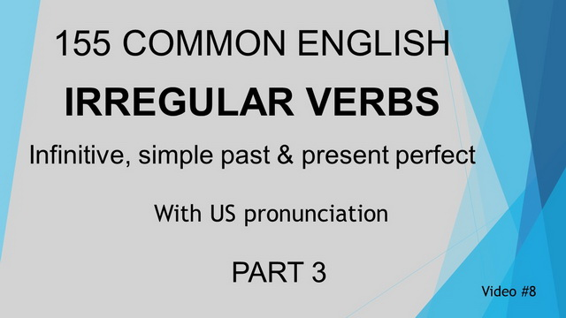 Irregular Verb Video #8