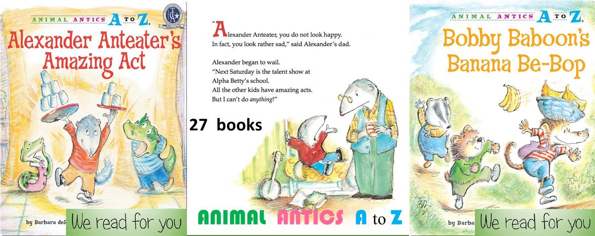 Animal Antics A to Z