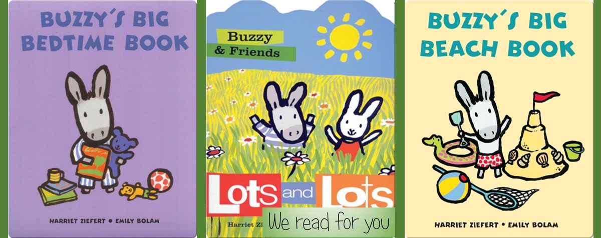 The Buzzy books