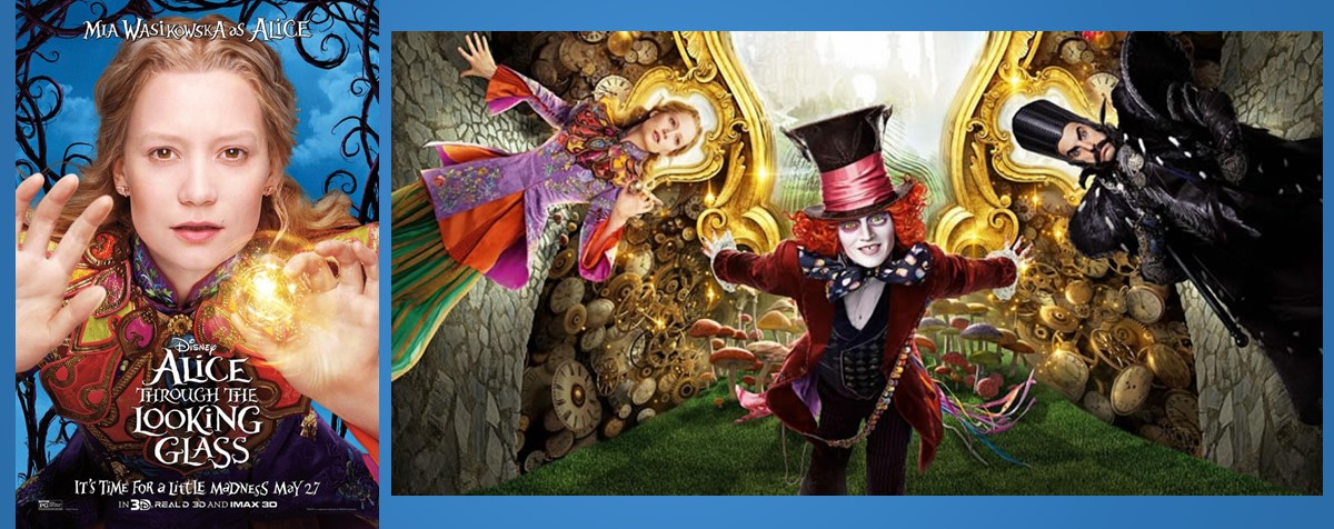 Alice Through the Looking Glass (Алиса в Зазеркалье)
