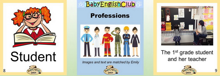 Learn Professions in English
