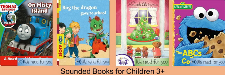English books for Kids from 3 years old